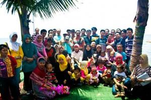 Silaturahmi keluarga KPPN Makassar II