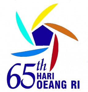 Logo Hari Oeang RI ke-65