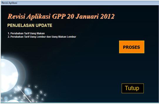 Revisi Aplikasi GPP 20 januari 2012