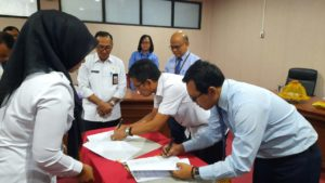 Berita Acara Rekonsiliasi Penyetoran Pajak Pusat atas Beban APBD Kab Gowa