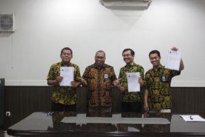Penandatanganan Kontrak Kinerja 2020
