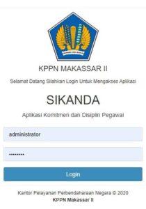 SIKANDA Aplikasi Komitmen dan Disiplin Pegawai